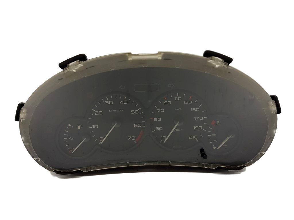 Tachometer orig Peugeot 206 Benziner Jaeger 9634961180 Tacho Kombiinstrument