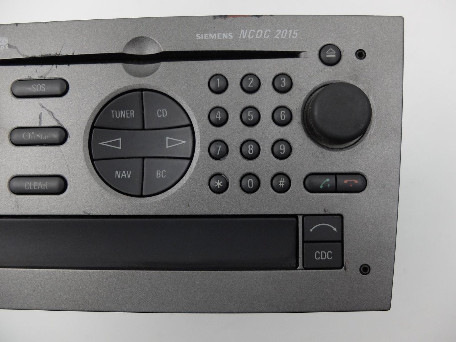 Cd-Radio Navi Opel 24441243 NCDC2015 UR7 Siemens 1133   eBay